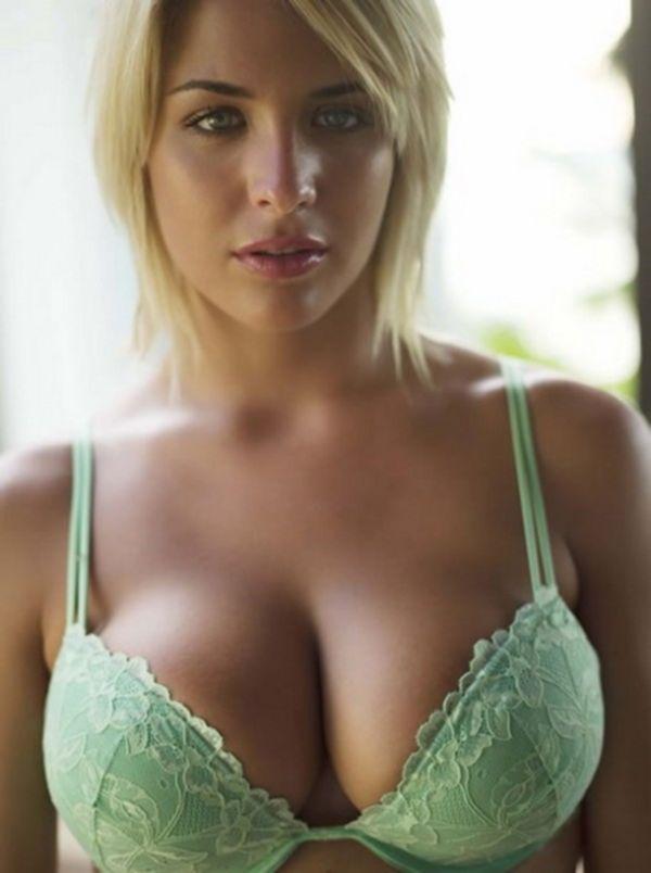Подборка девушек с большими сиськами в нижнем белье - секс порно фото