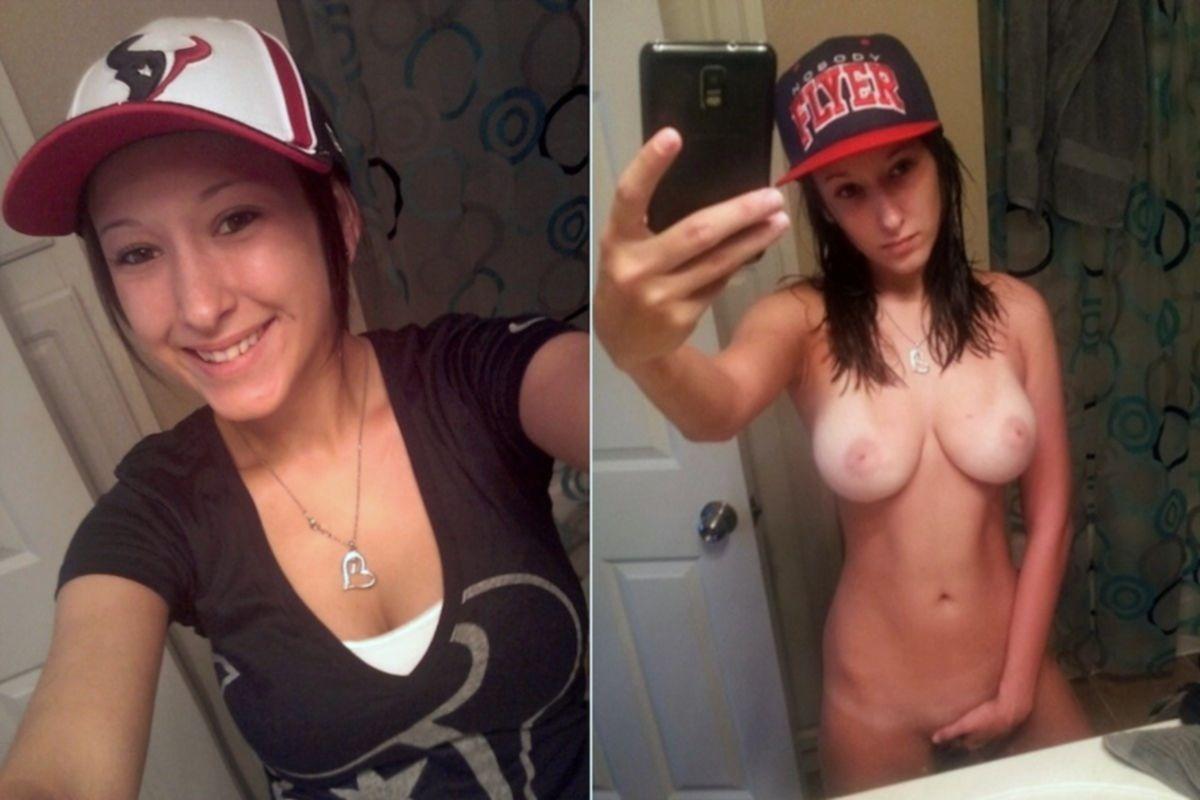 Девушки с сиськами селфятся дома в зеркалах - секс порно фото